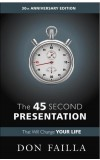 THE 45 SECOND PRESENTATION